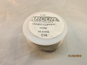16 AWG   Tinned Copper Wire